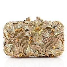 Attractive Crystal/ Rhinestone/Alloy Clutches