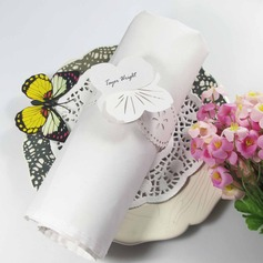 Butterfly Design Napkin Rings
