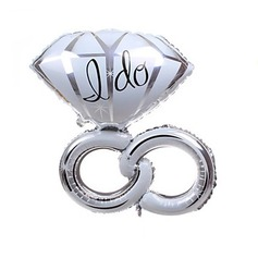 Diamond Ring Aluminium Foil Balloon