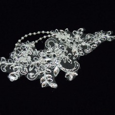 Gorgeous Lace Headbands With Rhinestone/Venetian Pearl