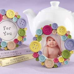 Lovely Button design Resin Photo Frames