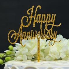 Gratulerer med dagen Akryl Kake Topper