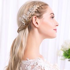 Damen Ins Auge Fallend Legierung Kämme und Haarspangen mit Venezianischen Perle