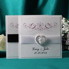 Personlig klassisk stil Enkla kort Invitation Cards (Sats om 50)