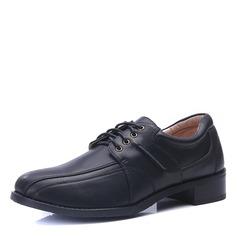 Men's Microfiber Leather Lace-up Dress Shoes Men's Oxfords