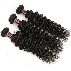 7A Primary cutting Deep Wavy Mid-Length Long Human Hair Hair Weaves/Weft Hair Extensions (Sold in a single piece) 100g