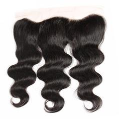 """13""""*4"""" 4A Corps les cheveux humains Fermeture (Vendu en une seule pièce)"""