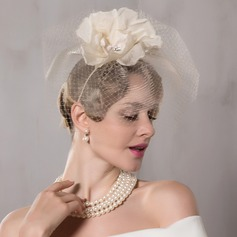 Ladies' Exquisite Net Yarn Fascinators