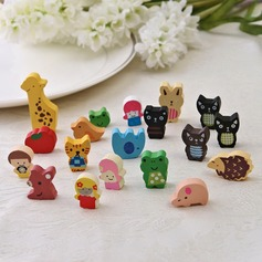 Lovely Wooden Fridge Magnets