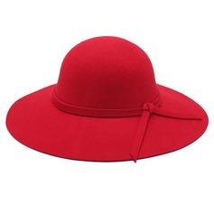 Senhoras Bonito/Moda/Elegante Lã De disquetes Chapéu