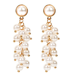 Ladies' Alloy/Imitation Pearls Imitation Pearls Earrings For Bride