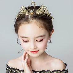 Alliage/Cristal avec De faux pearl Bandeaux (Vendu dans une seule pièce)