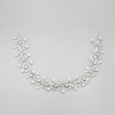 Charming Alloy/Imitation Pearls Headbands