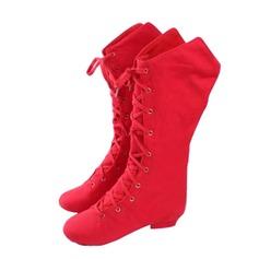 De mujer Lona Botas botas de danza Zapatos de danza