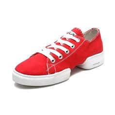 Hommes Tissu Tennis Baskets Chaussures de danse