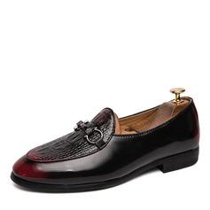 Hombres Cuero Horsebit Mocasines Casual Zapatos de vestir Mocasines de caballero (260207990)