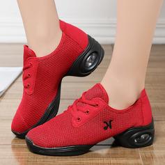 Vrouwen Kunstleer Doek Dans Sneakers modern Jazz Dans Sneakers Dansschoenen