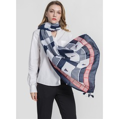 Country Style lichtgewicht/te groot Polyester Sjaal