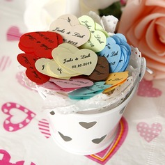 Personalized Heart Shaped Little Petals Paper Confetti (Set of 350 pieces)