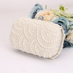 Elegant Beading Clutches/Satchel (012143583)