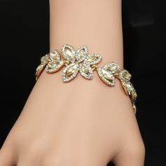 Hermoso Aleación/Diamantes de imitación Señoras' Pulseras
