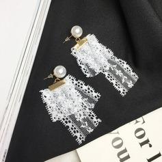 Unik Legering Spets Damer' Mode örhängen