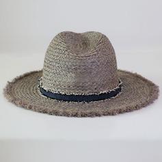De los hombres Hermoso/Moda/Elegante/Simple Rafia paja Sombrero de Panamá