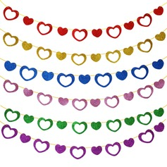 Pierced Heart Design Sponge Photo Booth Props