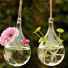 Diameter 10cm Beautiful Elegant Hanging Glass Vase (Sold in a single piece)
