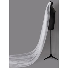 One-tier Cut Edge Cathedral Bridal Veils (006203717)