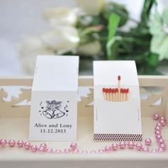 Personalizado Sinos papel cartão duro Caixas de Fósforos Personalizadas (Conjunto de 50)