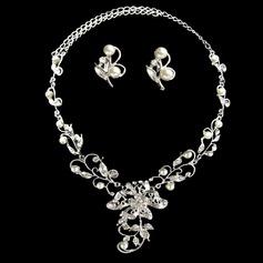 Charmen Legering med Pärla Damer' Smycken Sets