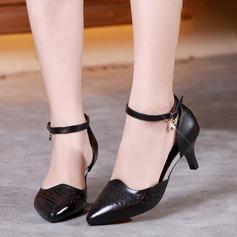 Femmes Vrai cuir Salle de bal avec Ouvertes Chaussures de danse