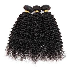 4A Non remy Kinky Curly les cheveux humains Tissage en cheveux humains (Vendu en une seule pièce) 50 g