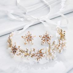 Dames Élégante Strass/De faux pearl Parures elle/Amis/la mariée/Demoiselle d'honneur/Fille fleurie