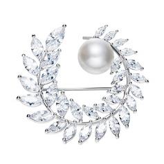 Eternal Love Alloy/Rhinestones/Imitation Pearls With Rhinestone/Imitation Pearls Ladies' Brooch