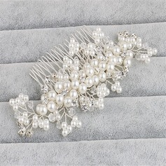 Ladies Classic Crystal/Alloy/Imitation Pearls Combs & Barrettes