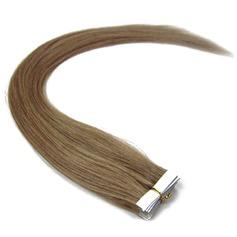 4A Ej remy Rakt människohår Tape i hårförlängningar 20PCS 50g