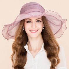 Damer' Särskilda Silke Diskett Hat
