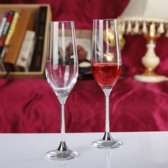 Élégante Flûtes à champagne avec Strass