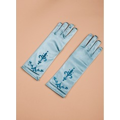 Satäng Elbow Längd Glove