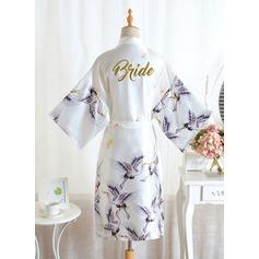 индивидуальное полиэстер невеста Цветочные одеяния Одеяла с блестками