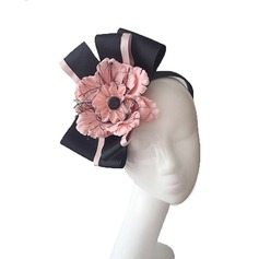 Damer' Nice Batist med Blomma Fascinators