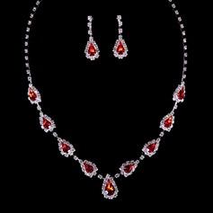 único Aleación/Crystal Señoras' Sistemas de la joyería