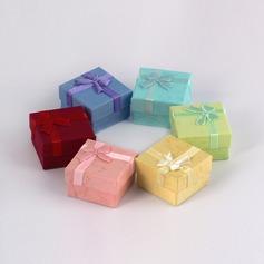 простой картон женские Коробка ювелирных изделий