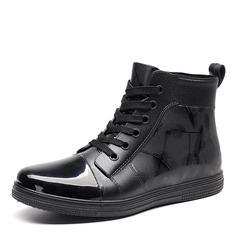 Men's Leatherette Lace-up Casual Men's Boots