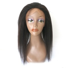 360 Frontal 4A Gerade Menschliches Haar Bedeckung (Einzelstück verkauft)