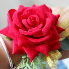 Satin/Seide Armbandblume (Sold in a single piece) -