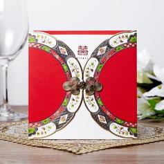 Asiatisk stil Wrap & Pocket Invitation Cards (Sats om 50)