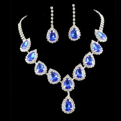 Elegant Alloy/Rhinestones With Rhinestone Ladies' Jewelry Sets (011110482)